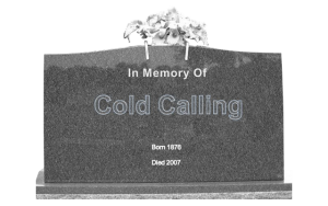 """The """"Death of the Cold Call"""""""