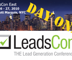 LeadsCon, Day 1: Any Marketing Automation in There?