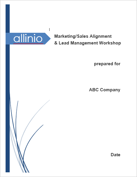 Allinio Lead Management Workshop