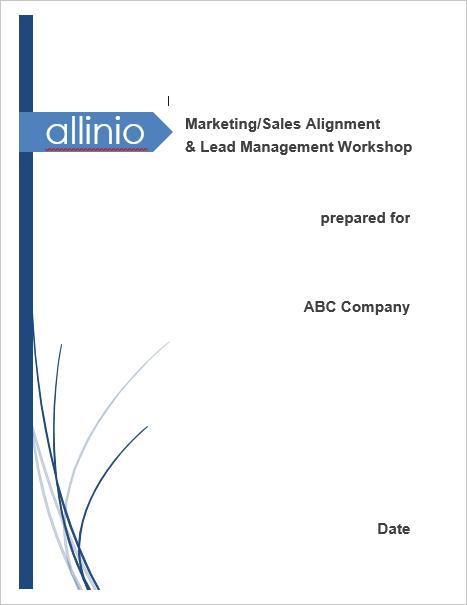 Allinio Lead Management Workshop