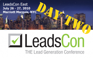 LeadsCon - Day Two