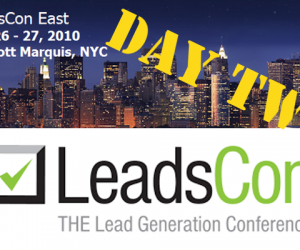 LeadsCon, Day 2: Any Marketing Automation in There?