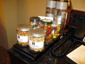 Hotel Candy Tray - Careful!