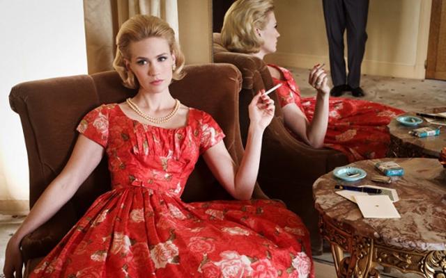"Betty Draper Has a Thing for ""Bad Boy"" Italians"