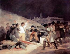 Francisco Goya, Los fusilamientos del tres de mayo, 1814 Museo del Prado, Madrid