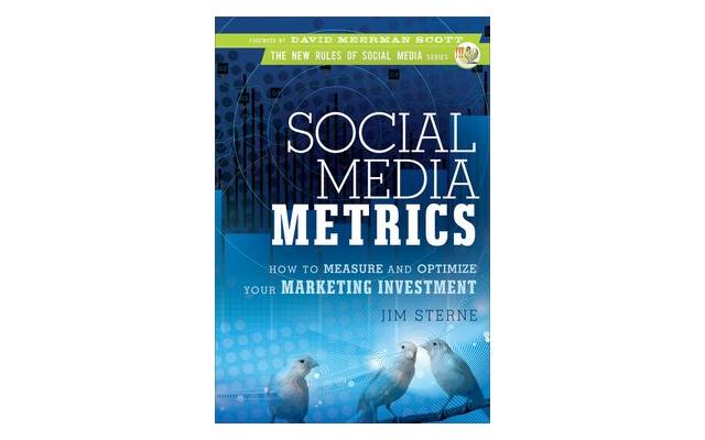 Jim Sterne's Social Media Metrics