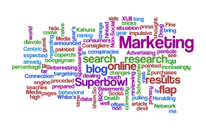 The Marketing Consigliere Wordle